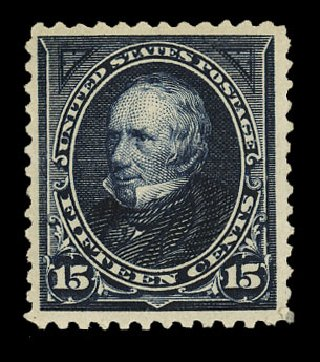 US Stamps Values Scott Catalogue #259 - 1894 15c Clay. Cherrystone Auctions, Nov 2014, Sale 201411, Lot 62