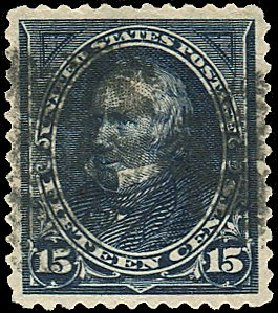 US Stamps Value Scott # 259: 1894 15c Clay. Regency-Superior, Nov 2014, Sale 108, Lot 512