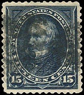 US Stamps Value Scott # 259: 1894 15c Clay. Regency-Superior, Nov 2014, Sale 108, Lot 512