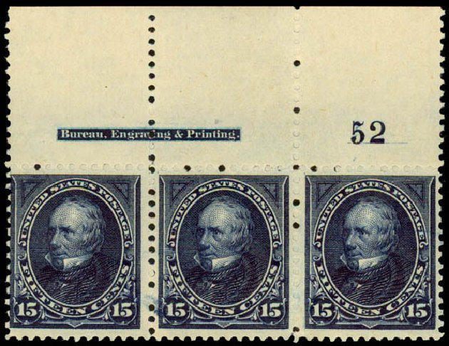 Values of US Stamp Scott #259: 1894 15c Clay. Daniel Kelleher Auctions, May 2015, Sale 669, Lot 2776
