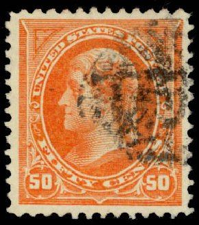 Prices of US Stamp Scott 260 - 50c 1894 Jefferson. Daniel Kelleher Auctions, May 2015, Sale 669, Lot 2778