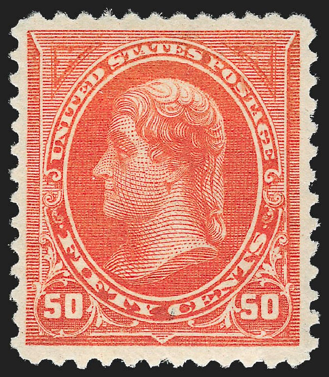 Prices of US Stamps Scott # 260 - 50c 1894 Jefferson. Robert Siegel Auction Galleries, Jul 2015, Sale 1107, Lot 350