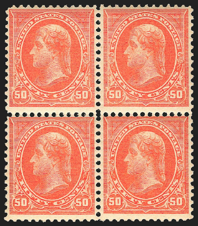 US Stamp Prices Scott Catalogue #260 - 50c 1894 Jefferson. Robert Siegel Auction Galleries, Jul 2015, Sale 1107, Lot 351