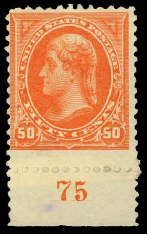 Thomas Jefferson 3 Cent Stamp Value Costs Of US Stamps Scott 260 50c 1894 Daniel Kelleher Auctions