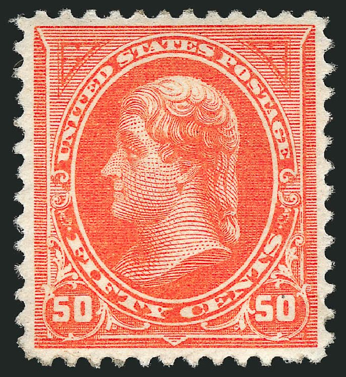 Costs of US Stamps Scott Catalogue # 260 - 50c 1894 Jefferson. Robert Siegel Auction Galleries, Apr 2015, Sale 1096, Lot 456