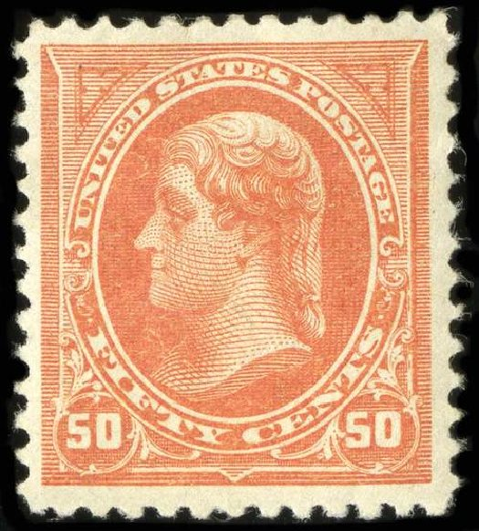 US Stamps Prices Scott Catalogue 260 - 1894 50c Jefferson. Spink Shreves Galleries, Jul 2015, Sale 151, Lot 206
