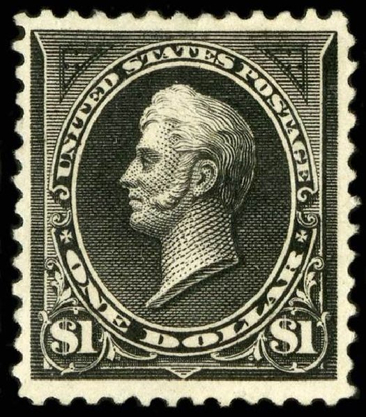 US Stamps Price Scott Cat. # 261 - US$1.00 1894 Perry. Spink Shreves Galleries, Jul 2015, Sale 151, Lot 208