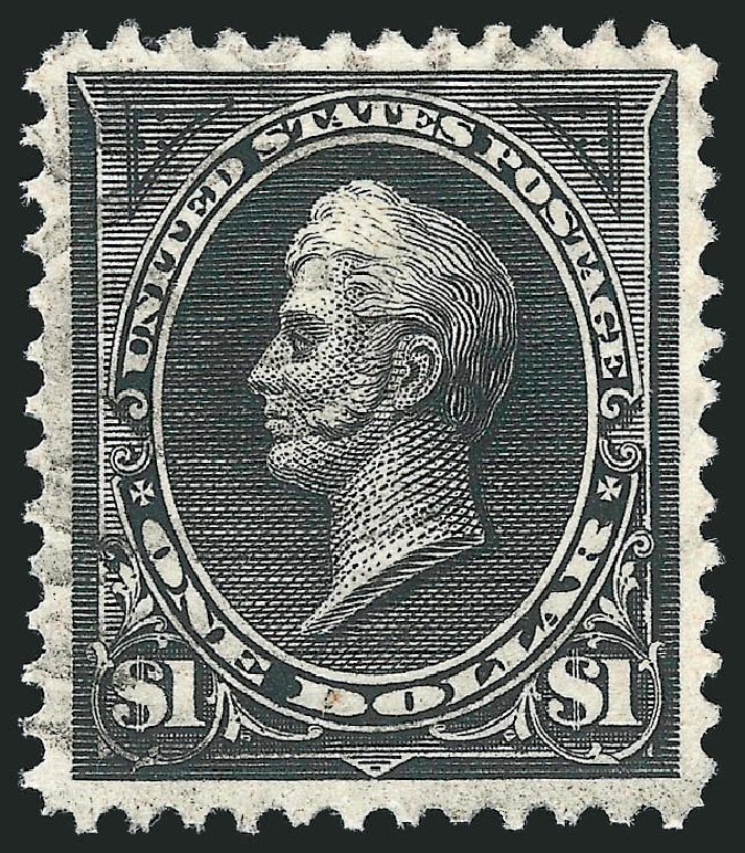 US Stamp Values Scott #261: US$1.00 1894 Perry. Robert Siegel Auction Galleries, Apr 2015, Sale 1096, Lot 460