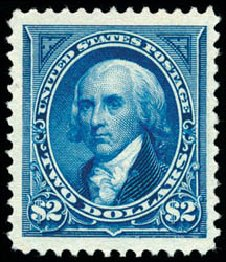US Stamp Value Scott Cat. #262 - US$2.00 1894 Madison. Schuyler J. Rumsey Philatelic Auctions, Apr 2015, Sale 60, Lot 2259