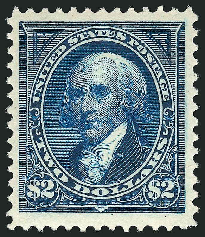 Price of US Stamps Scott Cat. #262: US$2.00 1894 Madison. Robert Siegel Auction Galleries, Apr 2015, Sale 1096, Lot 464