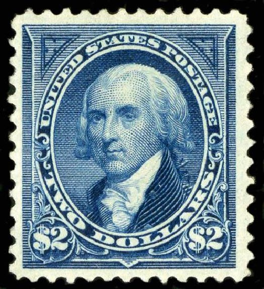 US Stamps Prices Scott Cat. 262 - US$2.00 1894 Madison. Spink Shreves Galleries, Jul 2015, Sale 151, Lot 214