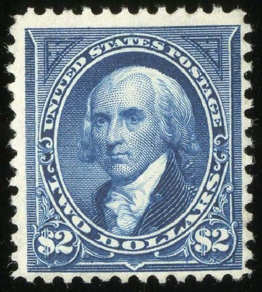 Prices of US Stamp Scott Cat. #262: 1894 US$2.00 Madison. Spink Shreves Galleries, Jul 2015, Sale 151, Lot 215