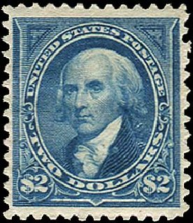 Values of US Stamp Scott 262 - US$2.00 1894 Madison. Regency-Superior, Aug 2015, Sale 112, Lot 522