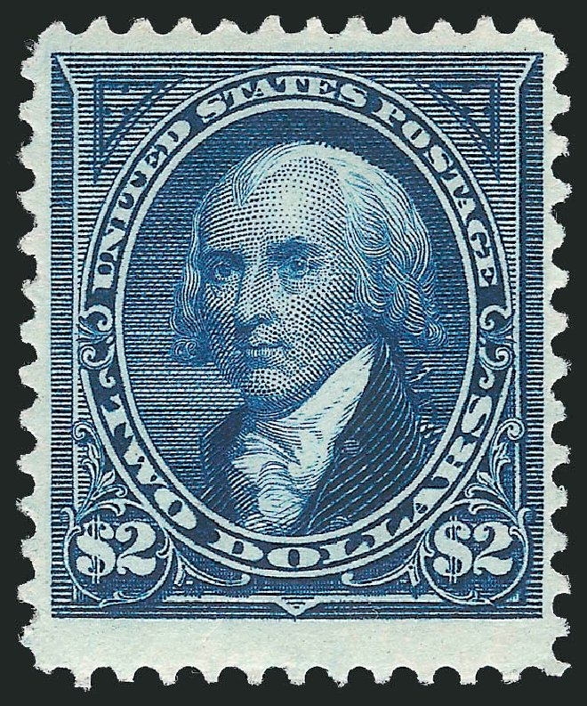 Price of US Stamps Scott Catalog #262 - 1894 US$2.00 Madison. Robert Siegel Auction Galleries, Feb 2015, Sale 1092, Lot 1202