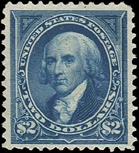 Prices of US Stamps Scott # 262 - 1894 US$2.00 Madison. Regency-Superior, Aug 2015, Sale 112, Lot 523