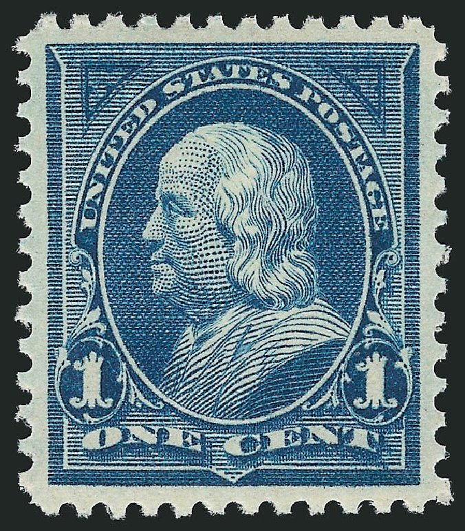 Cost of US Stamps Scott Catalogue # 264 - 1c 1895 Franklin. Robert Siegel Auction Galleries, Sep 2014, Sale 1078, Lot 398