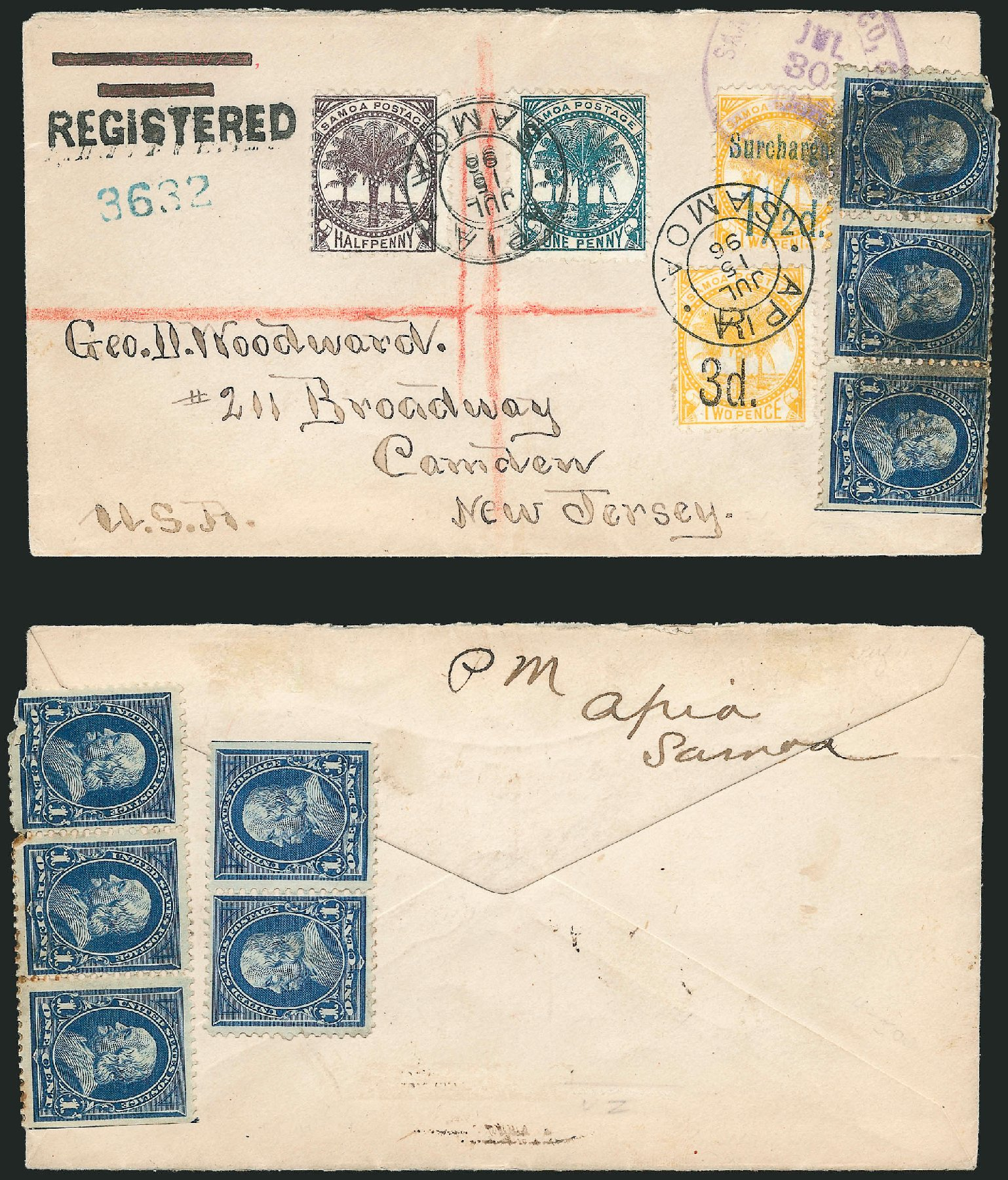 Prices of US Stamps Scott 264 - 1c 1895 Franklin. Robert Siegel Auction Galleries, Jun 2015, Sale 1105, Lot 2631