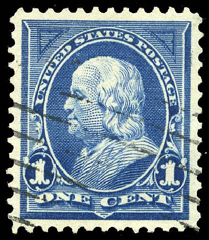 Costs of US Stamps Scott Catalogue # 264: 1c 1895 Franklin. Matthew Bennett International, May 2014, Sale 350, Lot 393