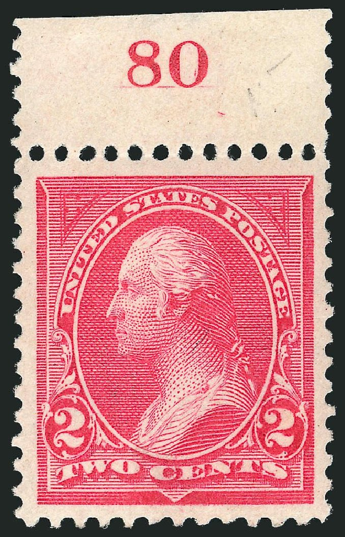 US Stamps Prices Scott Catalogue #265 - 1895 2c Washington. Robert Siegel Auction Galleries, Nov 2013, Sale 1061, Lot 3758