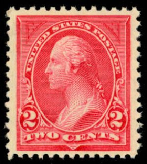 Prices of US Stamp Scott Catalogue #265: 1895 2c Washington. Daniel Kelleher Auctions, Mar 2013, Sale 635, Lot 379