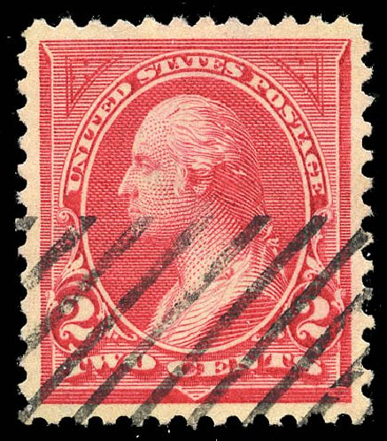 US Stamps Values Scott 265 - 2c 1895 Washington. Matthew Bennett International, May 2014, Sale 350, Lot 394