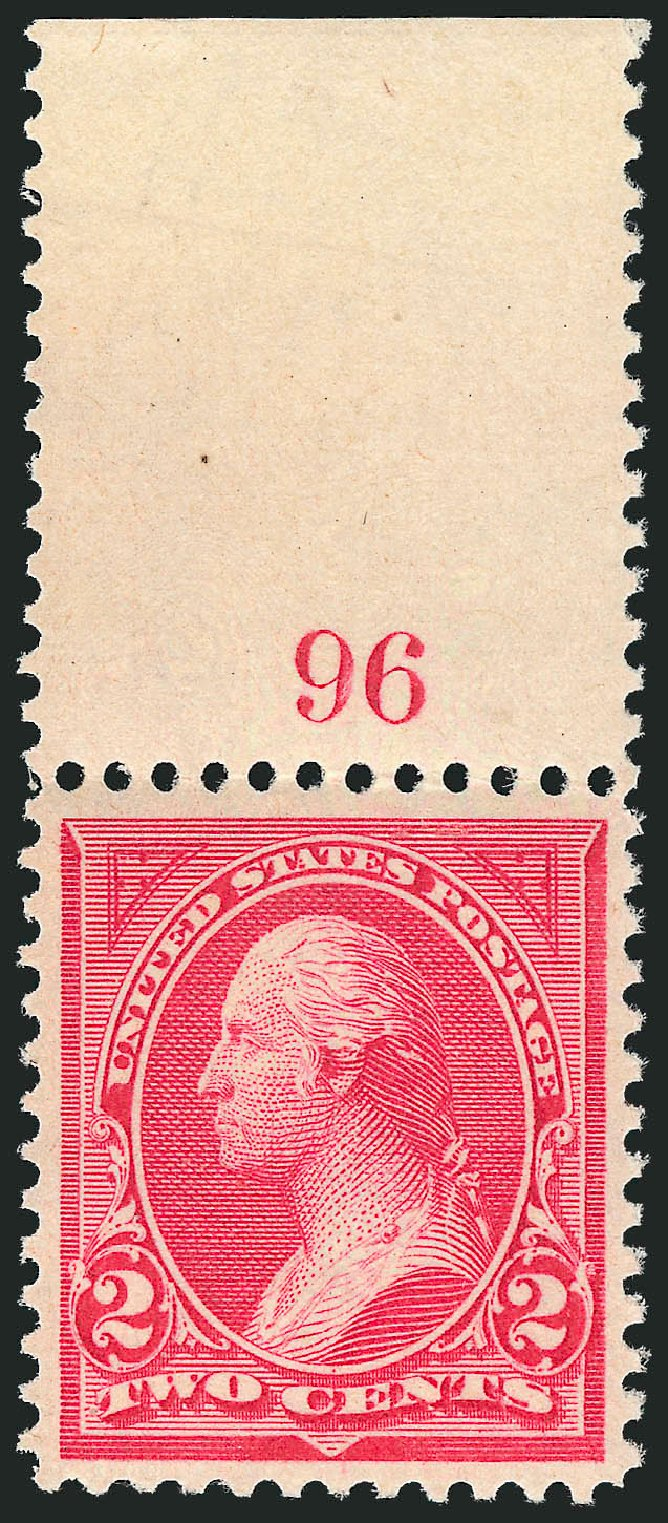 US Stamp Prices Scott Catalog # 265: 1895 2c Washington. Robert Siegel Auction Galleries, Dec 2012, Sale 1037, Lot 1885
