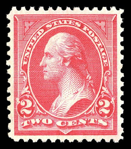Price of US Stamp Scott #266: 1895 2c Washington. Matthew Bennett International, Sep 2012, Sale 345, Lot 280