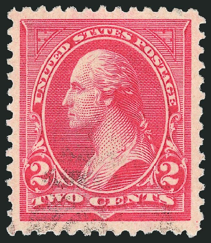 US Stamp Value Scott # 266: 1895 2c Washington. Robert Siegel Auction Galleries, Nov 2014, Sale 1084, Lot 3595