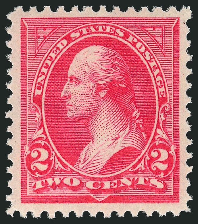 Value of US Stamps Scott # 266 - 2c 1895 Washington. Robert Siegel Auction Galleries, Nov 2013, Sale 1057, Lot 856