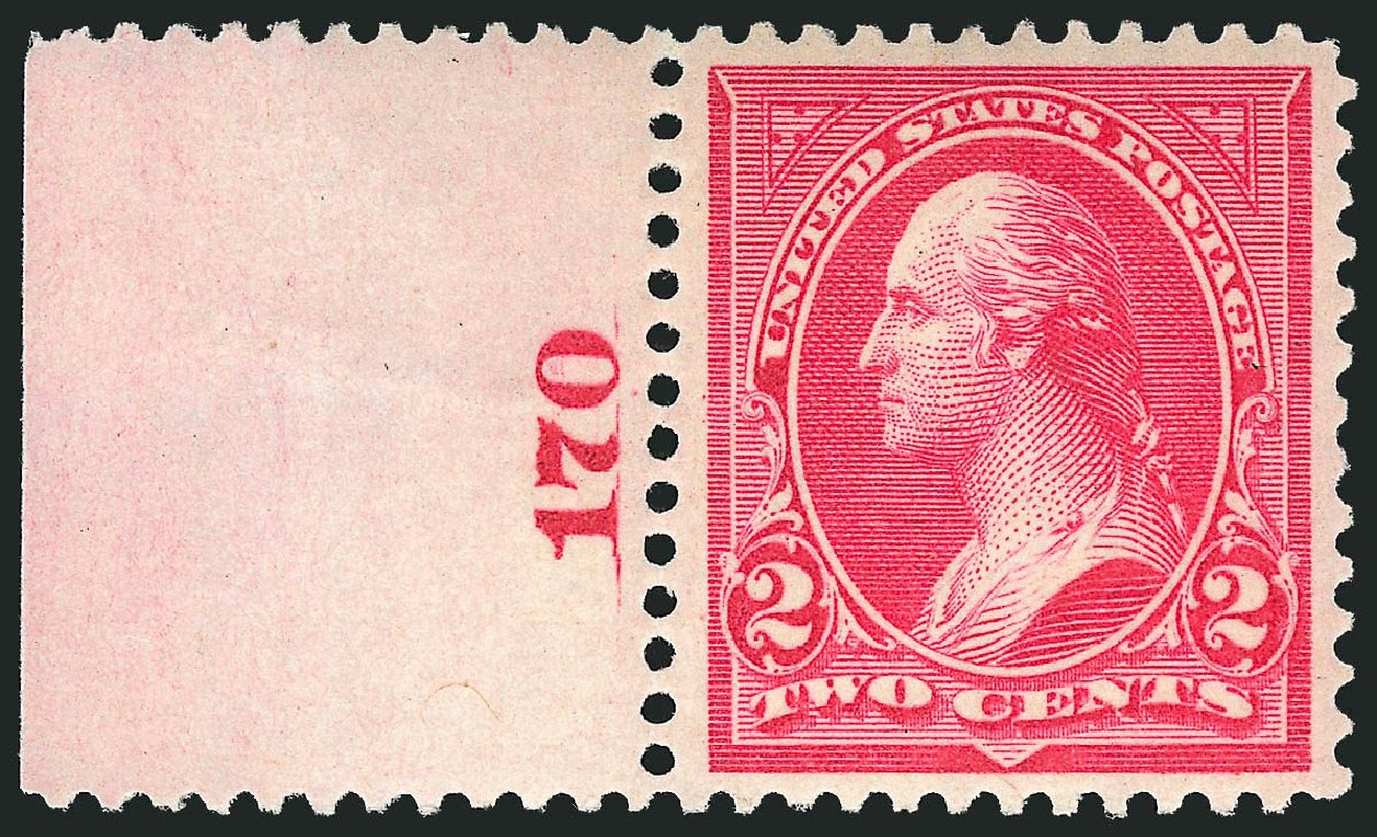 Price of US Stamp Scott Catalogue # 266 - 1895 2c Washington. Robert Siegel Auction Galleries, Apr 2014, Sale 1068, Lot 196