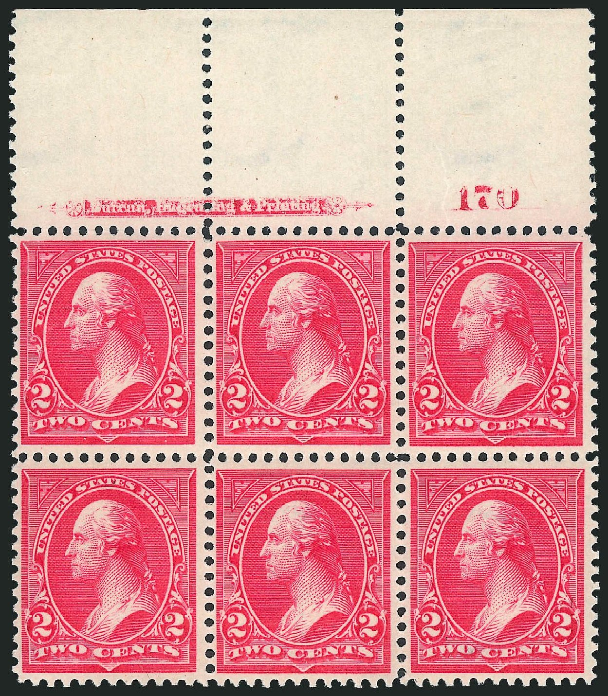 Prices of US Stamps Scott Catalogue # 267 - 2c 1895 Washington. Robert Siegel Auction Galleries, Mar 2013, Sale 1040, Lot 1577