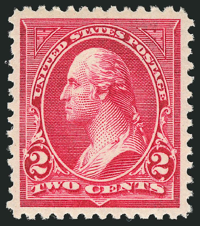 US Stamps Value Scott Cat. #267 - 1895 2c Washington. Robert Siegel Auction Galleries, Nov 2012, Sale 1034, Lot 249