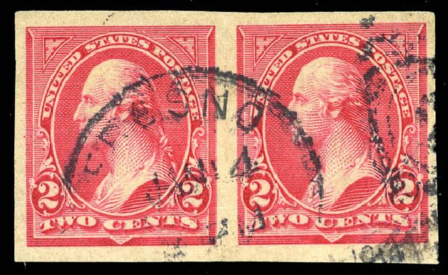 US Stamps Value Scott Catalog #267: 1895 2c Washington. Matthew Bennett International, Feb 2015, Sale 351, Lot 150