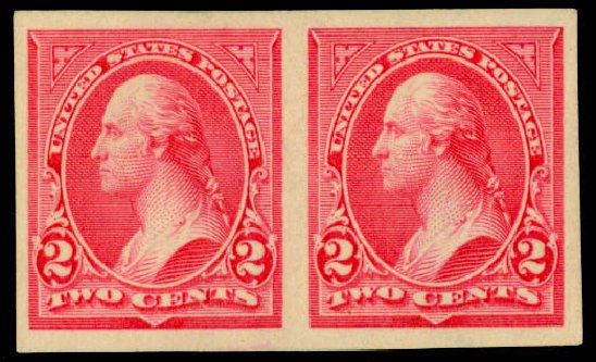 Cost of US Stamps Scott Cat. # 267 - 1895 2c Washington. Daniel Kelleher Auctions, Mar 2013, Sale 635, Lot 381