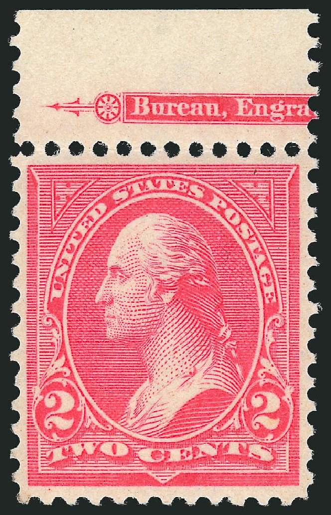 US Stamp Prices Scott Catalogue 267: 1895 2c Washington. Robert Siegel Auction Galleries, Oct 2012, Sale 1033, Lot 4153