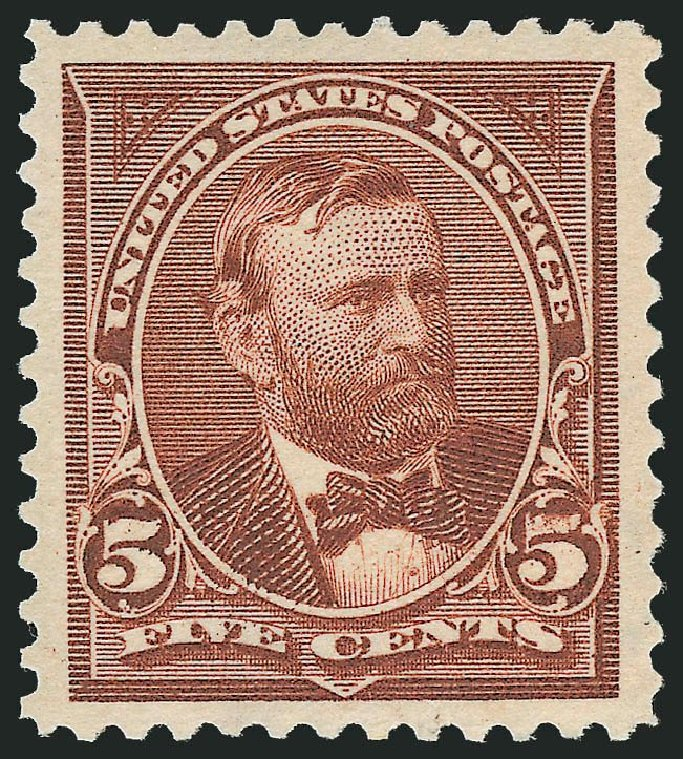 US Stamp Price Scott Cat. # 270: 5c 1895 Grant. Robert Siegel Auction Galleries, Nov 2013, Sale 1057, Lot 858