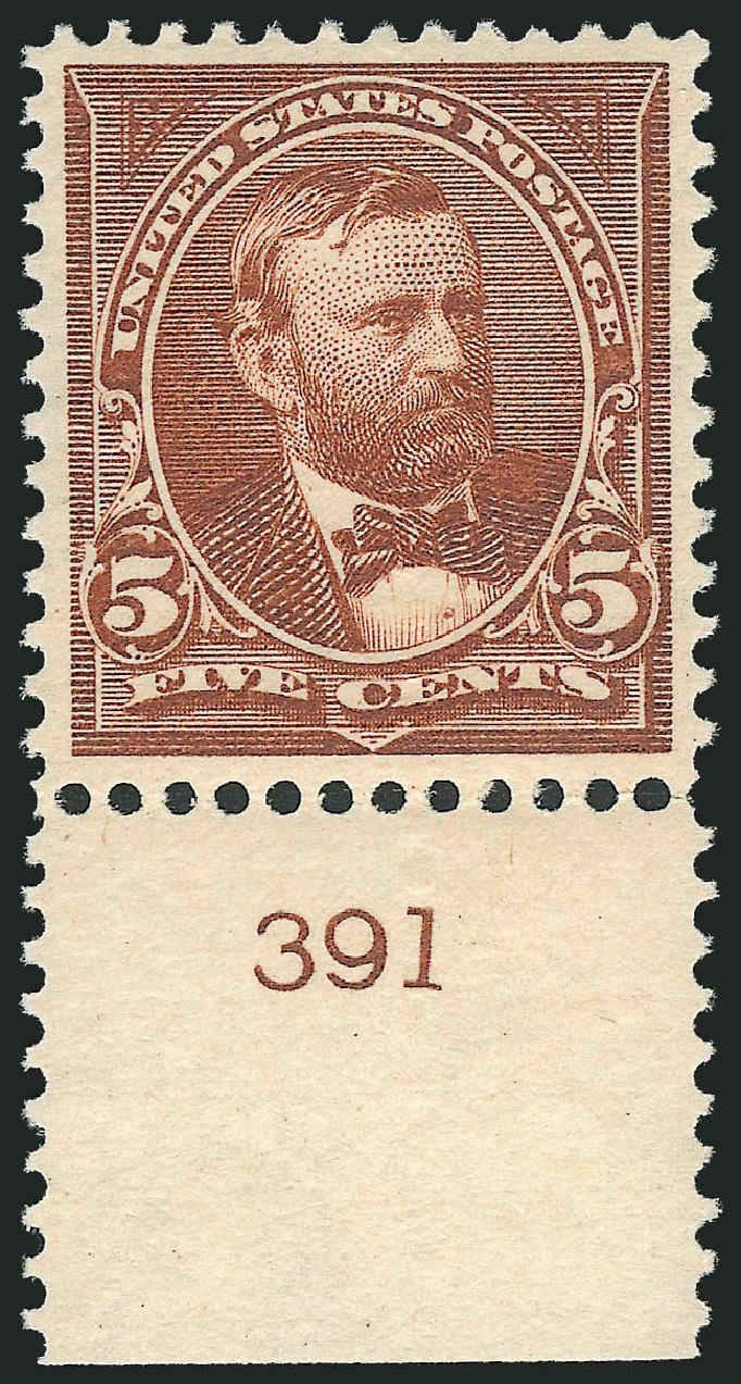 Value of US Stamp Scott 270 - 5c 1895 Grant. Robert Siegel Auction Galleries, Mar 2013, Sale 1040, Lot 1579