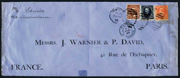 Costs of US Stamp Scott # 270: 5c 1895 Grant. Harmer-Schau Auction Galleries, Aug 2014, Sale 102, Lot 1904