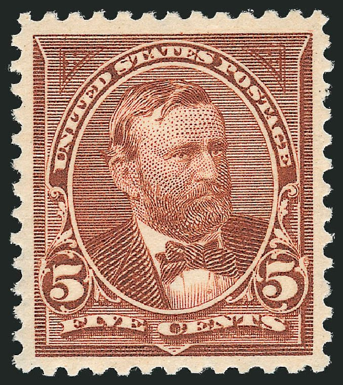 Cost of US Stamp Scott 270: 1895 5c Grant. Robert Siegel Auction Galleries, Dec 2013, Sale 1062, Lot 453