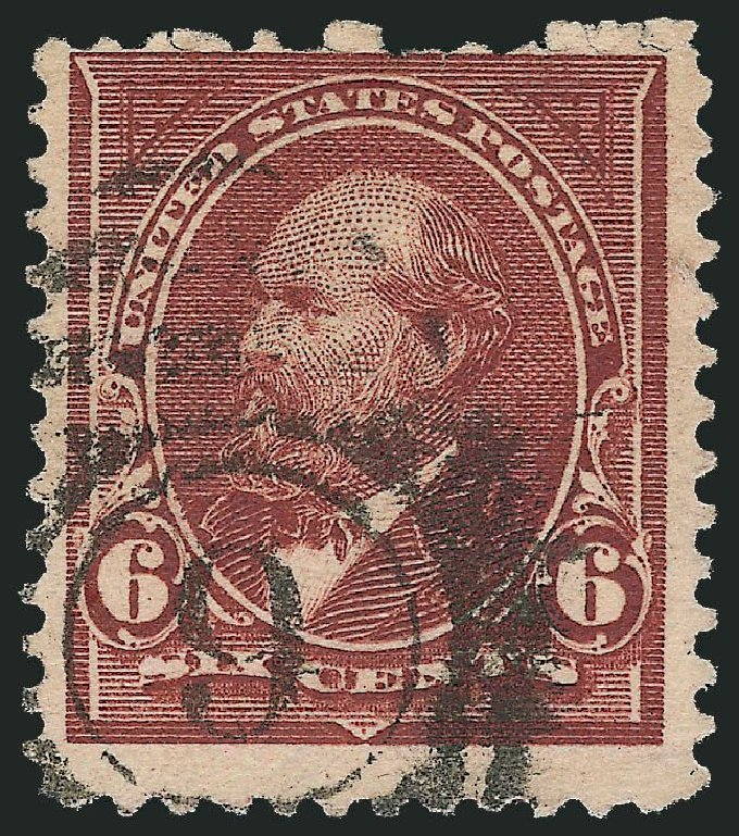 US Stamp Value Scott Catalog # 271 - 6c 1895 Garfield. Robert Siegel Auction Galleries, Dec 2014, Sale 1090, Lot 1407
