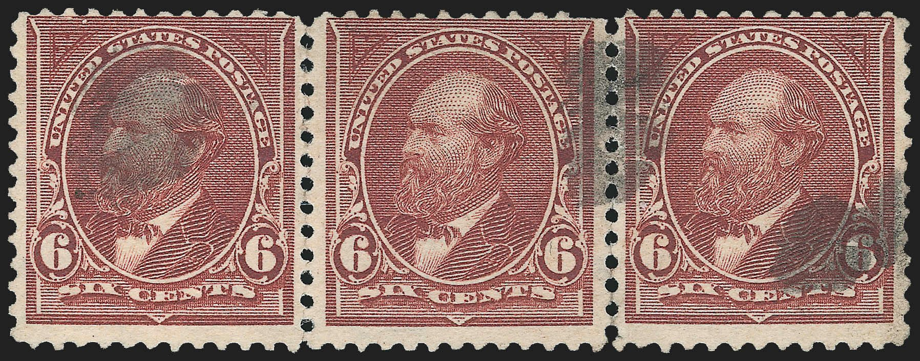 US Stamps Price Scott Catalogue 271: 6c 1895 Garfield. Robert Siegel Auction Galleries, Jul 2015, Sale 1107, Lot 358