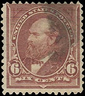 Price of US Stamp Scott # 271 - 1895 6c Garfield. Regency-Superior, Aug 2015, Sale 112, Lot 544
