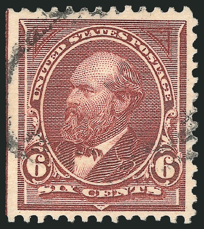 US Stamp Prices Scott Catalogue 271: 1895 6c Garfield. Robert Siegel Auction Galleries, Nov 2014, Sale 1084, Lot 3605