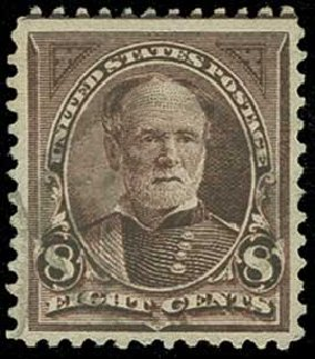 Price of US Stamps Scott 272: 8c 1895 Sherman. H.R. Harmer, Jun 2015, Sale 3007, Lot 3267