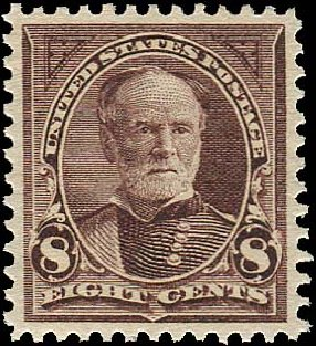 Price of US Stamp Scott Catalogue 272 - 8c 1895 Sherman. Regency-Superior, Aug 2015, Sale 112, Lot 547
