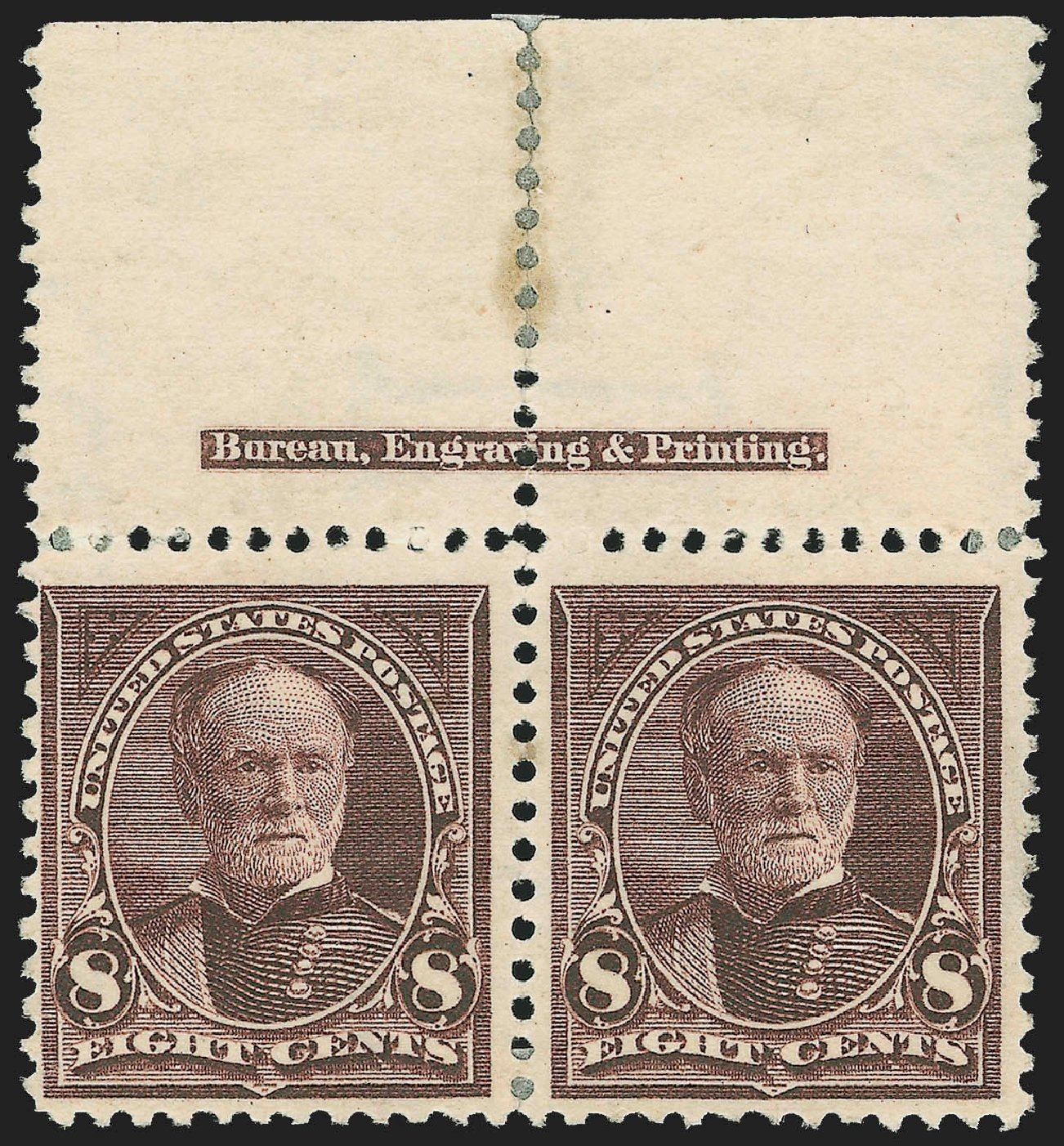 Value of US Stamps Scott Catalogue 272 - 1895 8c Sherman. Robert Siegel Auction Galleries, Jul 2015, Sale 1107, Lot 361