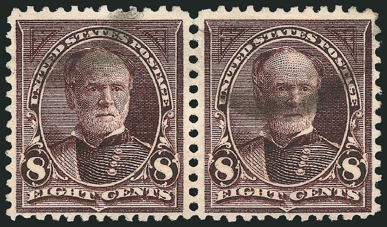 Cost of US Stamp Scott Cat. #272 - 1895 8c Sherman. Robert Siegel Auction Galleries, Nov 2014, Sale 1084, Lot 3612