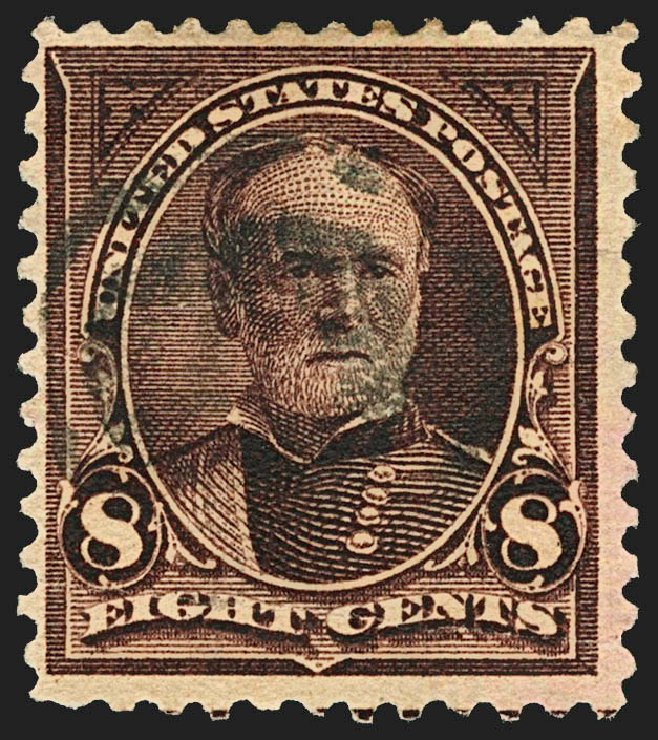 Costs of US Stamps Scott # 272 - 1895 8c Sherman. Robert Siegel Auction Galleries, Jul 2015, Sale 1107, Lot 362