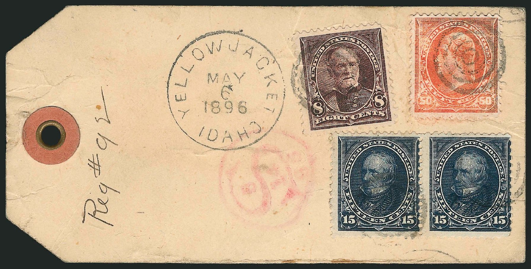 Prices of US Stamp Scott Catalogue 274 - 15c 1895 Clay. Robert Siegel Auction Galleries, Nov 2014, Sale 1084, Lot 3618