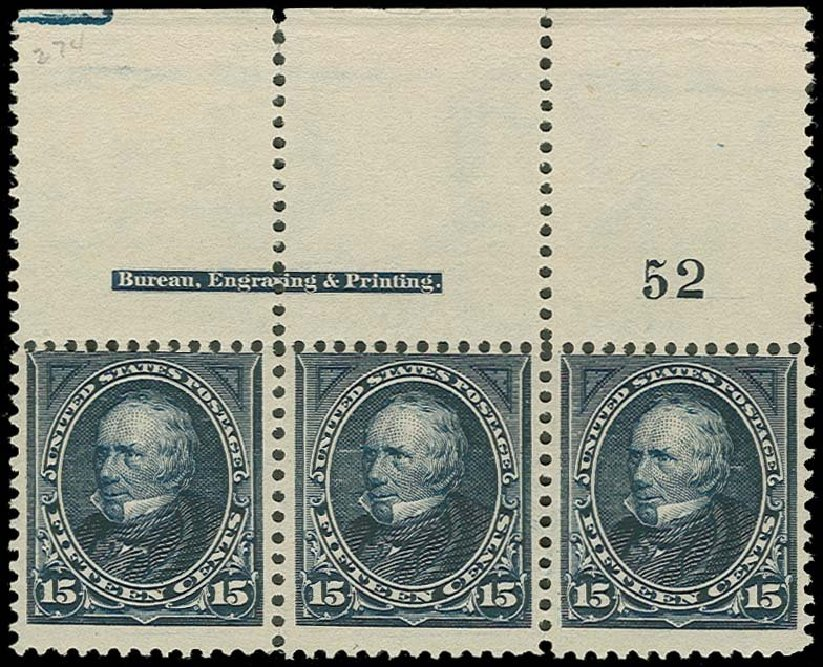 US Stamps Value Scott Catalog 274 - 15c 1895 Clay. H.R. Harmer, Oct 2014, Sale 3006, Lot 1289